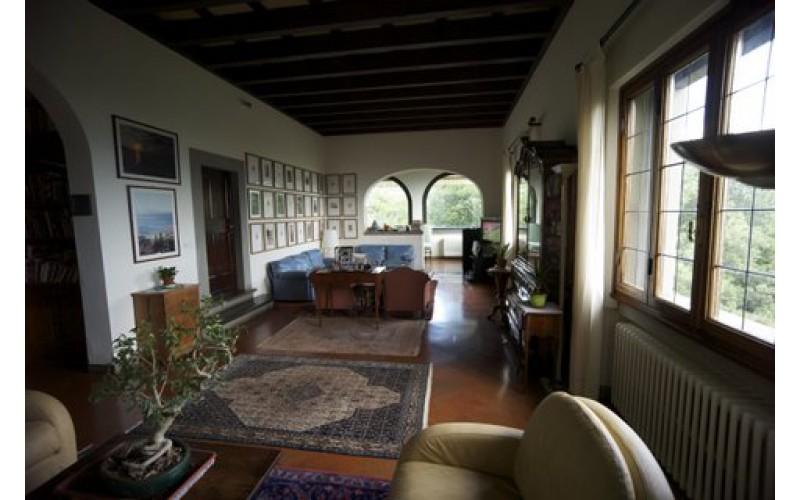 villa nelle colline di Firenze